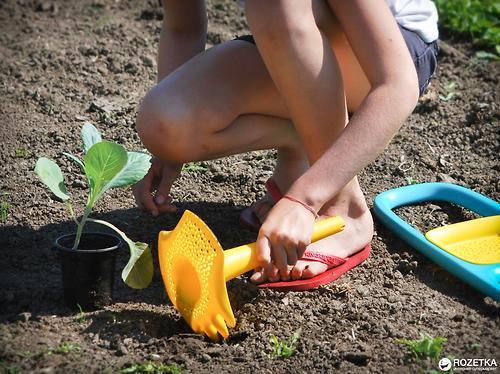 Многофункциональная игрушка Quut Triplet для песка и снега Mellow Yellow (15)
