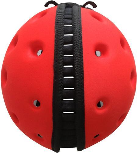 Мягкая шапка-шлем для защиты головы SafeheadBABY Божья коровка Красная (10)