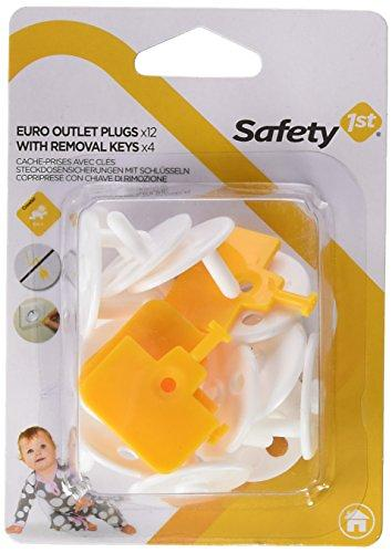 Защита на розетку Safety First с заглушками и ключом 12шт (3)