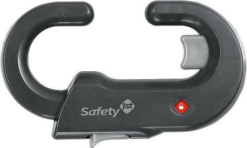Защита-замок на дверные ручки жесткий SAFETY FIRST (серый) (1)