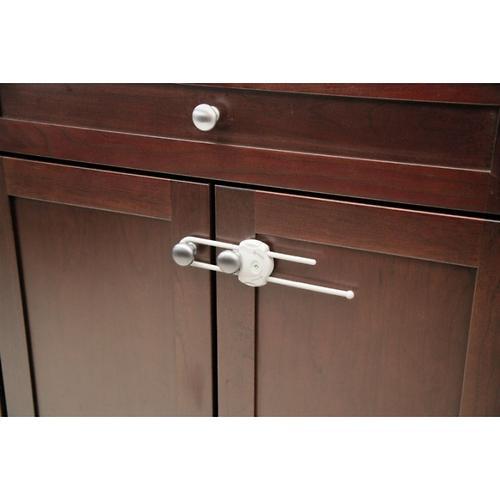 Защита-замок на дверные ручки жетский хомут SAFETY FIRST белый (4)
