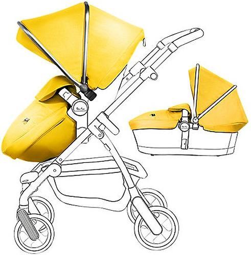 Aксессуары для колясок WAYFARER и PIONEER Silver/Yellow (1)