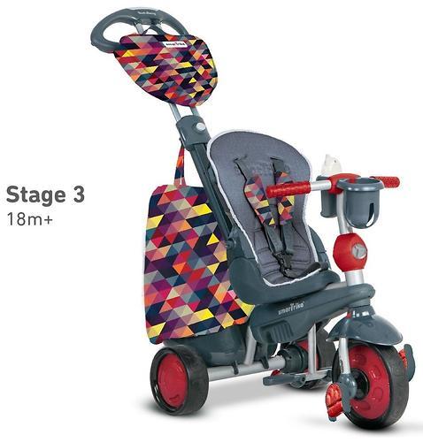 Велосипед Smart Trike 5в1 Explorer Black-Red (10)