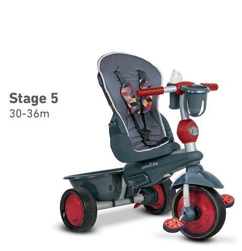 Велосипед Smart Trike 5в1 Explorer Black-Red (12)