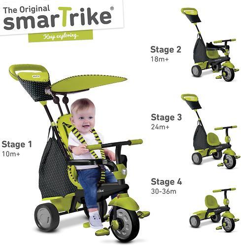 Велосипед Smart Trike 4в1 Glow Green (7)