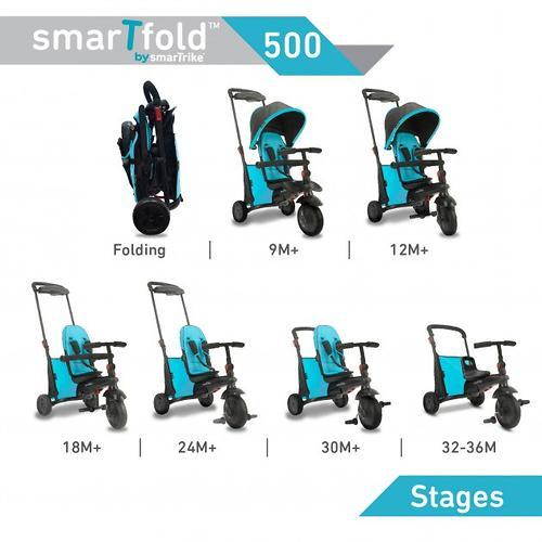 Велосипед Smart Trike 7в1 SmarTfold 500 Green (16)