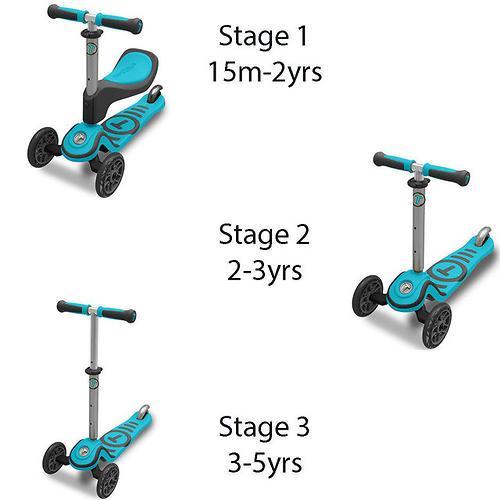 Самокат Smart Trike T-Scooter T1 Blue (10)