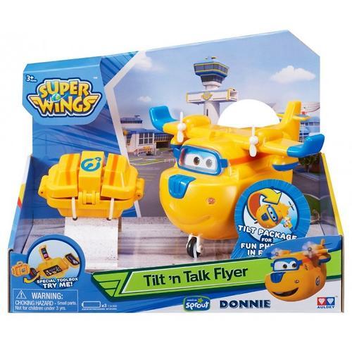 Игрушка Супер крылья - Донни с чемоданчиком, свет, звук (4)