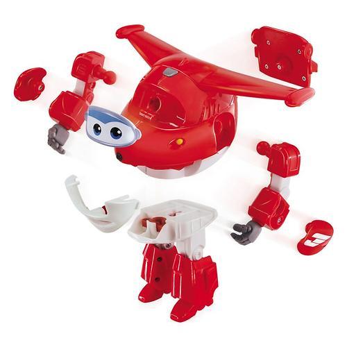 Игрушка Супер крылья - говорящий трансформер Джетт (7)