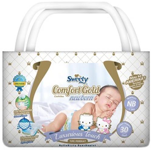 Подгузники Sweety Comfort GOLD Size NB 0-5 кг 30 шт (1)