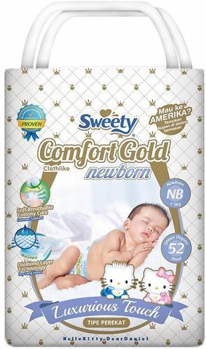 Подгузники Sweety Comfort GOLD Size NB 0-5 кг 52 шт (1)
