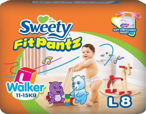 Трусики Sweety Fit Pantz Size L 11-15 кг 8 шт (1)