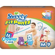 Трусики Sweety Fit Pantz Size M 7-12 кг 9 шт