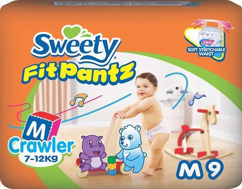Трусики Sweety Fit Pantz Size M 7-12 кг 9 шт (1)