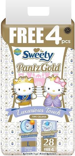 Трусики Sweety Pantz GOLD Size L 11-15 кг 28+4 шт (1)