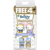 Трусики Sweety Pantz GOLD Size XL 14-18 кг 26+4 шт