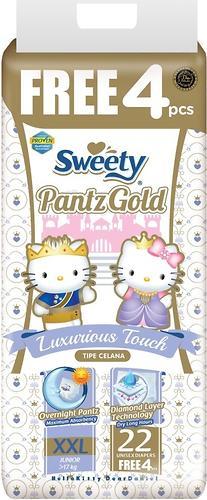 Трусики Sweety Pantz GOLD Size XXL 17-25 кг 22+4 шт (1)