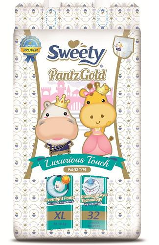 Трусики Sweety Pantz GOLD Size XL 14-18 кг 32 шт (1)