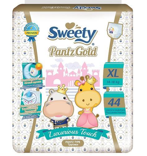 Трусики Sweety Pantz GOLD Size XL 14-18 кг 44 шт (1)