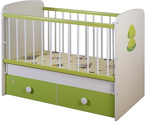 Кроватка Glamvers Magic Plus Зеленая Слон (4)