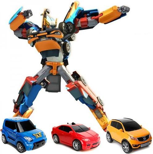 Робот-трансформер Tobot Тритан (5)