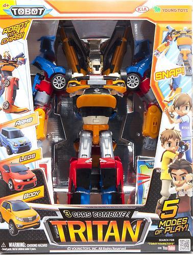 Робот-трансформер Tobot Тритан (6)