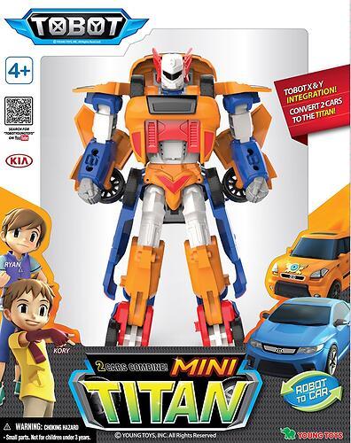 Робот-трансформер Мини Tobot Титан (4)