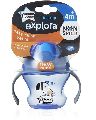 Поильник Tommee Tippee Explora First Cup 4 мес+ в ассортименте (8)