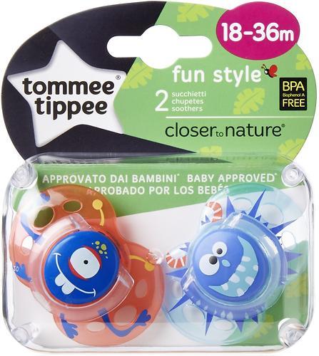 Пустышка Tommee Tippee Fun силиконовая для девочек 18-36 мес (4)