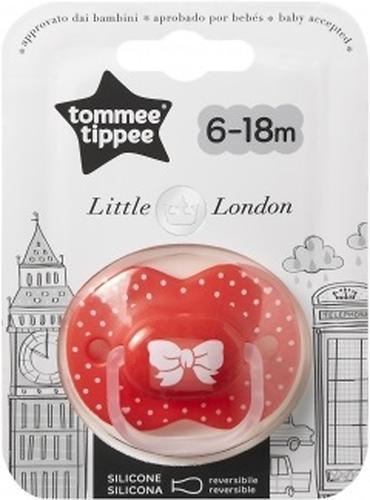 Пустышка Tommee Tippee London для девочек 6-18 мес (4)