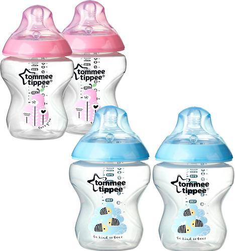 Бутылочка Tommee Tippee 260 мл 2 шт 0+ в ассортименте (5)