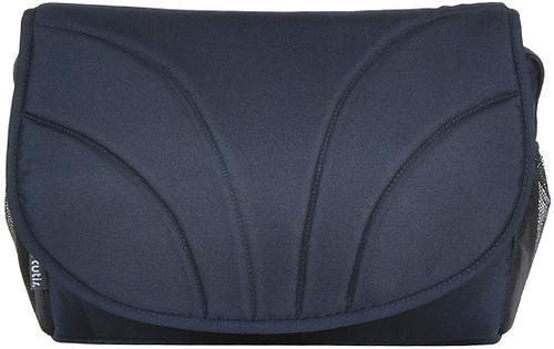 Коляска 2в1 Tutis Mimi Plus Premium темно-синий/белый/крап (11)