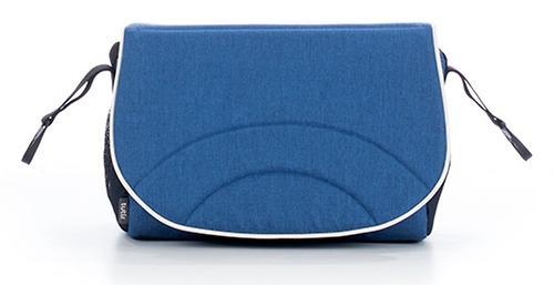 Коляска 2в1 Tutis Mimi Style Джинсовый лен/темно Голубой (12)