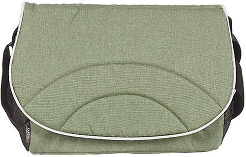 Коляска 2в1 Tutis Mimi Style Оливковый/Зелено-серый узор/Кожа Белая рама (12)