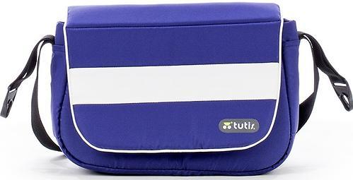 Коляска 3в1 Tutis NEW ТО-ТО Белая рама Темно-фиолетовый/Белый (14)