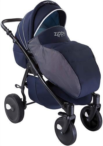 Коляска 3в1 Tutis Zippy Silver New Темно-синий (12)