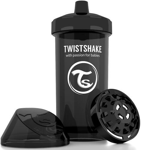 Поильник Twistshake Kid Cup 360мл 12m+ Черный Superhero (5)