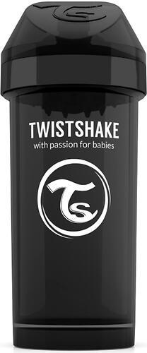 Поильник Twistshake Kid Cup 360мл 12m+ Черный Superhero (6)
