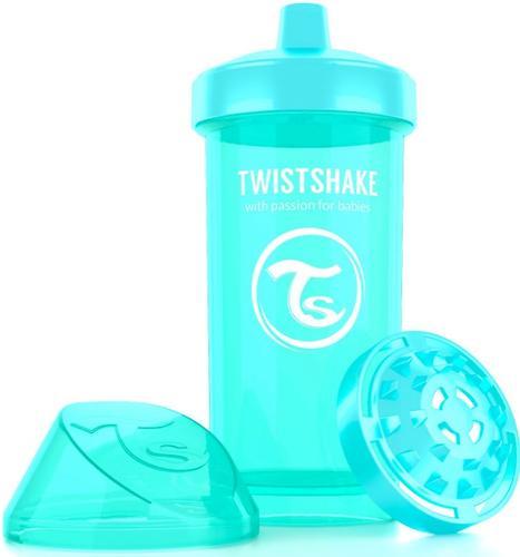 Поильник Twistshake Kid Cup 360мл 12m+ Бирюзовый Sleepyhead (5)