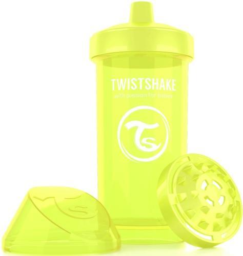 Поильник Twistshake Kid Cup 360мл 12m+ Желтый Starlight (5)