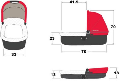 Люлька для колясок UPPAbaby Vista и Cruz HENRY 2017 (20)