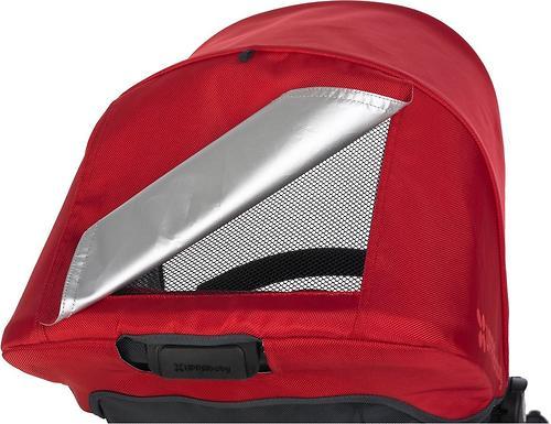Коляска UPPAbaby Vista 2в1 Малиново-Красная (Red/Silver) (18)