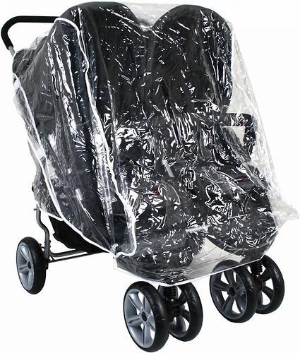 Дождевик Valco baby Raincover Ion For 2 & Zee Two (1)