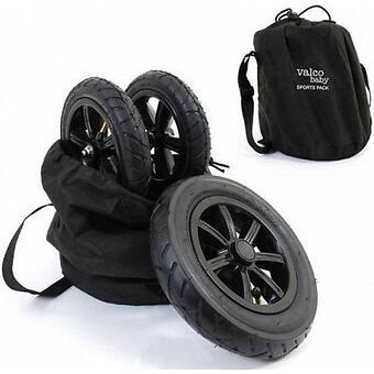 Комплект надувных колес Valco baby Sport Pack для Snap4, Black - Minim