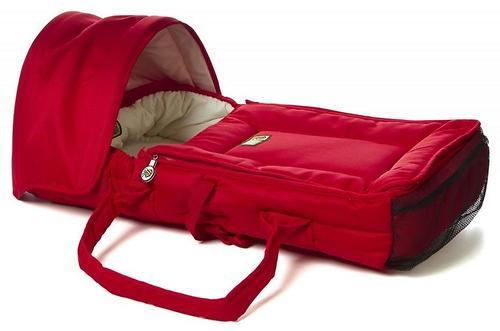 Люлька-переноска Valco baby Cocoon Red (6)