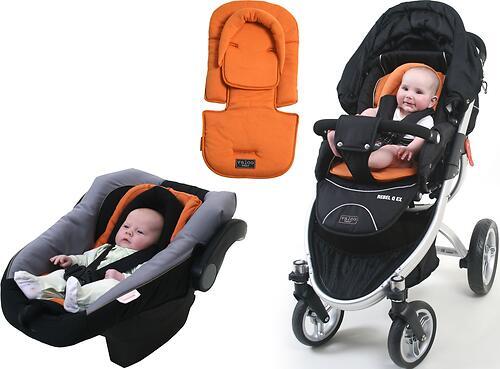 Вкладыш Valco baby All Sorts Seat Pad, цвет Orange (4)