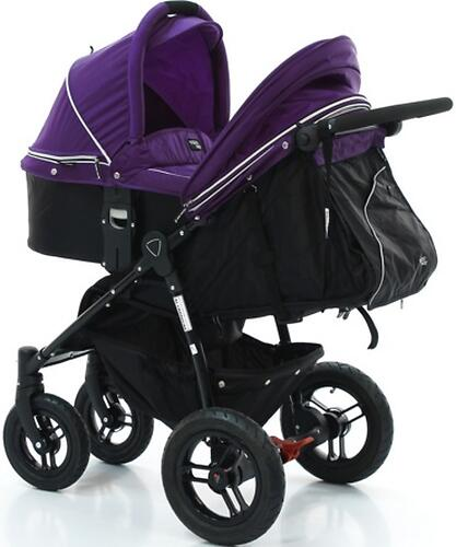Люлька Valco baby Q Bassinet для Rebel Q, Trimod X, Snap 4 Ultra, Quad X, цвет Deep Purple (7)