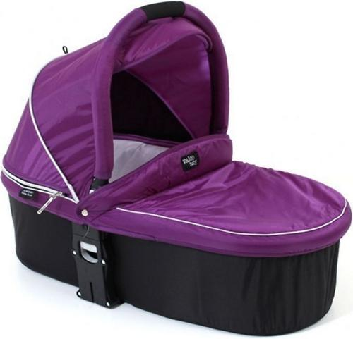 Люлька Valco baby Q Bassinet для Rebel Q, Trimod X, Snap 4 Ultra, Quad X, цвет Deep Purple (5)