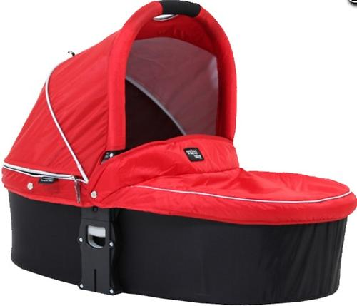 Люлька Valco baby Q Bassinet для Rebel Q, Trimod X, Snap 4 Ultra, Quad X цвет Carmine Red (5)