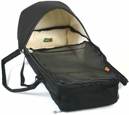 Люлька-переноска Valco baby Soft Bassinet Black (9)